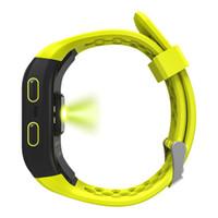 S908 Höhenmesser oder GPS-Armband Herzfrequenzmesser Fitness Tracker Smart Watch IP68 wasserdichte Kamera-Armbanduhr für iPhone und Android