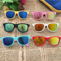 nett Rechteck Kinder Sonnenbrille Marke 2020 Kinder, Mädchen, Jungen Kleinkind Sonnenbrille oculos de sol infantil