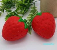 Decompressione giocattolo 12 cm grande colossale fragola squishy jumbo simulazione frutta kawaii artificiale squishies lento squishies bagget giocattolo fc1