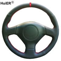 Ручная швейная машина руля крышка рулевого колеса оплетка для Subaru Forteru 2005-2008 Impreza 2005-2007 (WRX STI) Outback 2005-2007
