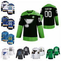 St Louis Blues jerseys Ivan Barbashev Jersey Sammy Blais Tyler Bozak Troy Brouwer Jacob de la Rose camisetas de hockey Lucha nCoV cosido personalizada