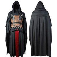 Costume cosplay di Halloween Darth Revan tunica con cappuccio e costume da uomo