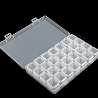 28 Slots Diamond Painting Kits Plastic Storage Box Nail Art ...