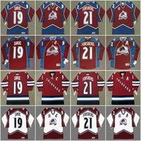 Colorado Avalanche Joe Sakic 1996 Peter Forsberg 1996 Peter Forsberg 2001 Claude Lemieux 1996 Claude Lemieux Vintage Hockey Jersey