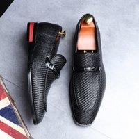 Pelle vestito convenzionale uomini scarpe casual scarpe da guida Oxford per gli uomini fannulloni affari di nozze più Size38-48