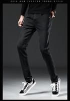 2021 Осень Новые Мужские Дизайнерские Патчи Разорвал Slim Fit Джинсы Вышивка Мужской Прямой Бизнес Известные Классические Повседневные Брюки 8927