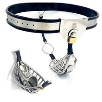 Stainless Steel Male Chastity Belt Penis Cage Bondage Pants ...