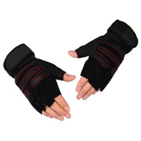 Men Fingerless Gloves Wrist Half Finger Glove Unisex Adult F...