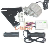 24V36V 450W 전기 브러시 모터 + 모터 컨트롤러 + 트위스트 스로틀 eBike DIY 모터 세트 전기 자전거 변경 키트