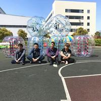 Palla umana gigante gonfiabile del criceto del PVC 1.5m del pallone da calcio 0.8mm del pallone da calcio di trasporto libero