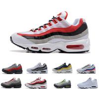 2020 Max 95 9s Running Shoes OG Neon Grape Triple Negro Blanco TT University Red Cushion Surface Transpirable Trainer Sport Sneakers 40-45