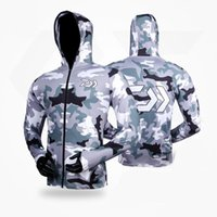 3ea7dd79 Wholesale fishing clothes for sale - Group buy 2018 Brand Fishing Clothing  Summer Long Sleeve Sunscreen