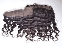 Loose Wave 13*4 Lace Frontals Medium Brown Color Lace Fronta...