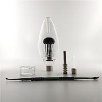 Nectar Collectorxx de Nail Quartz et bol en verre et un clou en titane et DAB outil
