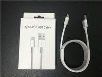 Новые кабели мобильных телефонов 1 м 2 м Оригинал A ++++ OEM USB зарядки кабеля Тип C с заплетенным Weave розничная упаковочная коробка для Samsung Huawei Xiaomi Redmi OPPO LG быстрое зарядное устройство