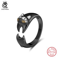 ORSA JEWELS Authentic 925 Sterling Silver Women Ring Vivid B...