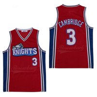 # 3 Cambridge Men's Basketball Jerseys # 6 Yosemite James # 23 bordados Logotipos cosidos Space Jam Jersey Movie Tune Squad