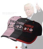 Trump 2020 Berretto da baseball Keeping America Great Again USA Cappello Bandiera Snapback Lip ricamo 3 colori Partito Cappelli OOA8003
