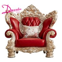 Luxury New Classical Wedding Sofa Set American Style Solid C...