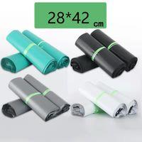 28x42cm Poly Mailer grande plástico Jewlery Roupa presente Mailing Bags Envelope auto-adesivo Seal envio Plastic Bag