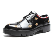 Germain Loafer Black Men Bee Star Shoes Moccasins Loafers La...