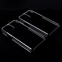 İnce Şeffaf Şeffaf Kılıf için iphonePhone 11 Pro Max Kristal Ultra Sert Plastik Parlak çekin Arka Kapak İçin iphonePhone X XR XS Max Capa