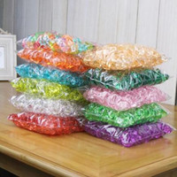 6 Packs about 1000 Pieces Acrylic Ice Crystals Ice Chips Sto...