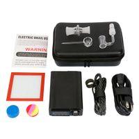 Top Quality Enail Dnail VAPorizer Dispositivo DAB Box Temperatura Controllo della temperatura Mod per concentrato di cera con i tubi dell'acqua Pan