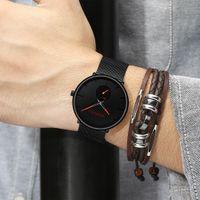2020 Crrju İzle Kadınlar Ve Erkekler İzle En Marka Lüks Ünlü Elbise Moda Saatler Unisex Ultra İnce Kol Relojes Para Hombre