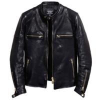 giacca ltaly annata 2019 in vera pelle da uomo lavato spessa pelle di pecora cappotto uomini stanno abbigliamento collare maschio