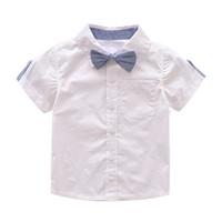طفل الفتيان مجموعة ملابس الصيف الطفل بدلة السراويل قميص الأطفال كيد ملابس الدعاوى الزفاف الرسمي حزب حلي