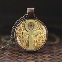 Horus Ra of Antik Göz Ra Ankh Kolye Yaşam Çapraz Kolye Tanrı Mısır Muska Kolye Ward Off Evil Ruhu Mumya Mısır