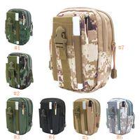 Спорт на открытом воздухе Casual Tactical шлевки сумка талии мобильный телефон талии обновления Камуфляж Водонепроницаемый Многофункциональный лазерный Waistpacks LJJZ560