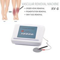 2020 وصول جديدة العنكبوت الوريد العلاج آلة الجسم الوجه الأوعية الدموية الأوعية الدموية إزالة العلاج RF الجلد المعدات تزيين وتجميل