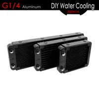ALSEYE Water Cooler Radiator G1 4 Alumium Water Cooling Heat...