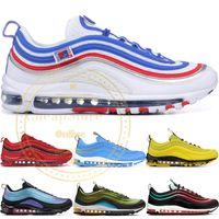 Jeu Royal Hommes Chaussures De Course Bleu Héros Avoir Une Journée Léopard Pack Rouge Triple Blanc Noir Métallisé Or Femmes Athlétique Sports Sneakers 36-45