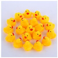 1000pcs lot Wholesale mini Rubber bath duck Pvc duck with so...
