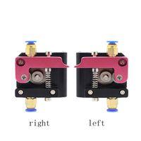 Freeshipping улучшенная версия 3D принтер запчасти Reprap Makerbot MK8 полный металлический алюминиевый сплав Боуден экструдер для нити 1.75 мм