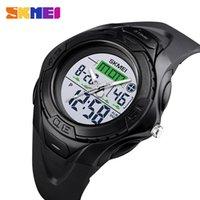SKMEI Outdoor SportS Watch Men Digital Waterproof Watches Alarm Clock Luminous Dual Display Wristwatches relogio masculino 1539