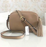 أعلى جودة حقائب المحفظة حقائب حقيبة يد نسائية حقائب CROSSBODY سوهو حقيبة الكتف حقيبة ديسكو مهدب رسول حقائب محفظة 22CM