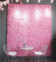 Photography Wall 60x40cm Artificial Hydrangea Flower Props Início de Fundo Decoração DIY Wedding Arch Flores frete grátis 12pcs / lot