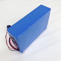 Sur mesure 52V 20Ah 30Ah 40Ah Li-ion batterie pour Scooter électrique 1850 Lithium ion batterie BMS 1500W et 5A Chargeur