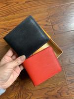2018 محافظ محفظة محفظة رجالى جديد العلامة التجارية جلدية المحفظة، أزياء الرجال محفظة Arteira الغمد قصيرة كوين الرجال جيب المحفظة مع مربع