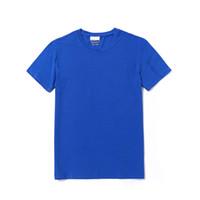 Lacoste lacoste mens progettista magliette coccodrillo nuovo modo di marca di regular fit Francia degli uomini di lusso S Shirt girocollo alta qualità conton nuova
