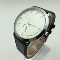 Heißer verkauf 40mm kleine drei nadel quarz leder herrenuhren mode lässig männer kleid designer uhr großhandel männlichen geschenke armbanduhr horloge