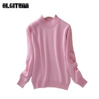 Casual Sweater for Female Autumn Slim Bottom Shirts Cashmere...