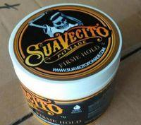 Suavecito Pomade Hair Firme Hold Pomades Strong Hold Restoring طرق القديمة الكبيرة هيكل عظمي شعر ذو طين الشمع