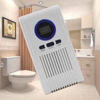 Generador de ozono purificador de aire higiénico Limpiador Desinfectante de la máquina de aire para baño Bastidores del zapato con pantalla LED Función de temporización