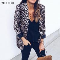 Blazer femme printemps automne automne 2019 nouveau manteau de bureau à la mode femme Léopard Cardigan imprimé serpent à manches longues veste dames blazer
