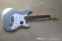 New Arrival Hot Guitar Custom Shop Silver Color stratocaster...